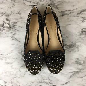 Enzo Angliolini Studded Black Loafers